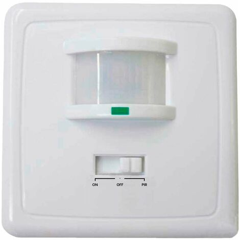 Interruptor con Sensor Infrarrojo de Movimiento y Sensor Crepuscular 7hSevenOn Home