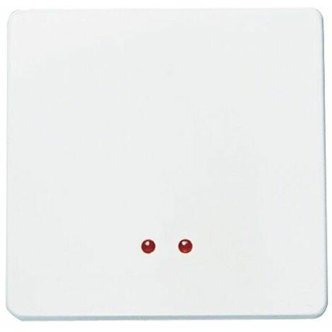Interruptor con visor ancho blanco Niessen Stylo 2201.3 BA