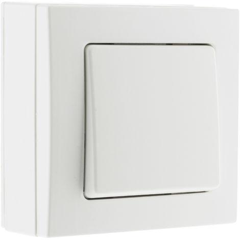 Interruptor/Conmutador blanco - Bel'Vue
