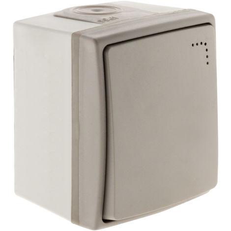 Interruptor/Conmutador con luz IP55 - Orok