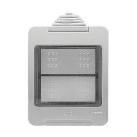 Interruptor-conmutador estanco IP55 Niessen Zenit N3202