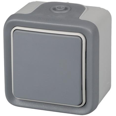 Interruptor Conmutador Ip55 Gris - LEGRAND - 191501