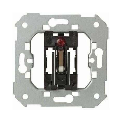 Interruptor conmutador tarjeta luminoso Simon 27 Play Blanco