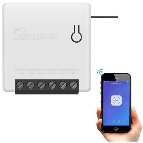 Interruptor Conmutador WiFi SONOFF Mini 10A Exclusive