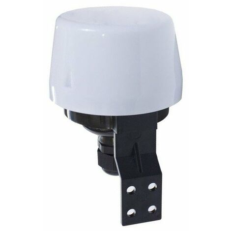 Interruptor crepuscular Fotoeléctrico 10A IP44