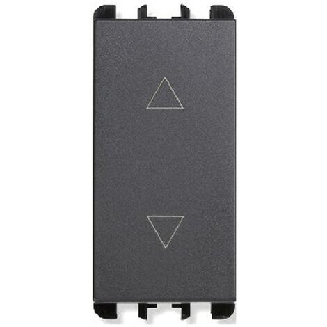 Interruptor de arriba y abajo de la Urmet Simon Nea 3 Ps 1P 10A antracita 10140