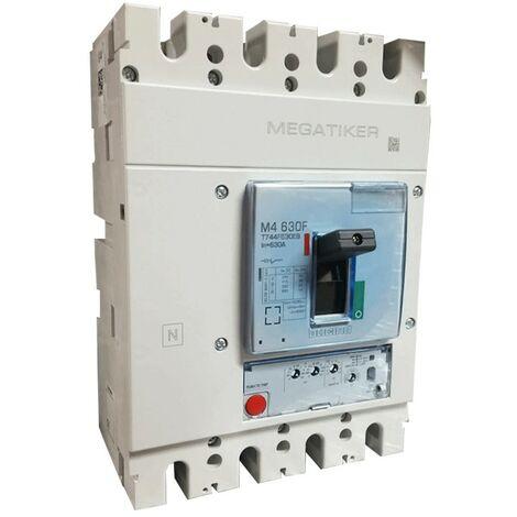 Interruptor de circuito moldeado, Bticino MEGATIKER electrónica 630A T744F630EB