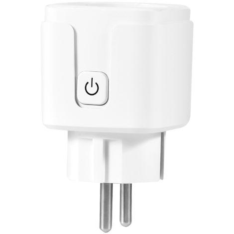 Interruptor de Control de adaptador de control inalambrico Wi-Fi del enchufe SmartPlug zocalo RC PowerOutlet voz, 1pcs