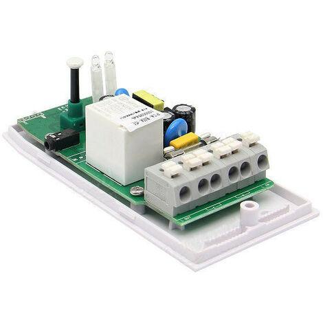 Interruptor de control remoto de la aplicación del termostato de humedad y temperatura inalámbrico