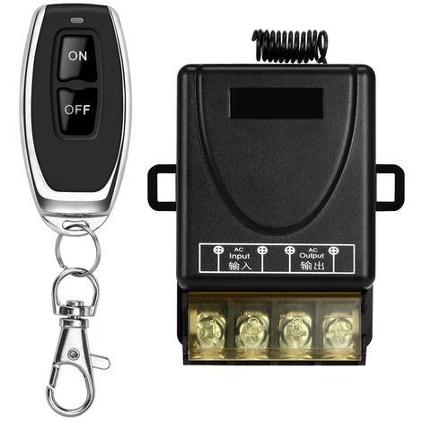 Interruptor de control remoto para bomba de agua ,con 1 controles remotos