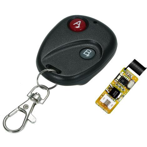 Interruptor de control remoto RF del modulo receptor universal, 433Mhz DC 5-18V