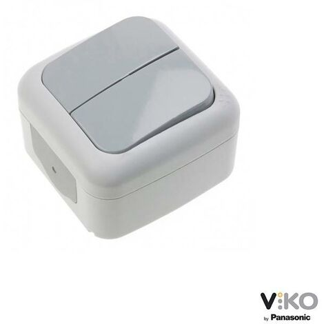 Interruptor de dos vías estanco 10A 250V IP54 VIKO by Panasonic