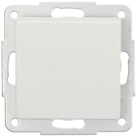 Interruptor de empotrar Blanco 56x56mm