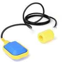 Interruptor de flotador de PVC Interruptor de cambio Regulador de nivel cable 2m 250V 16A