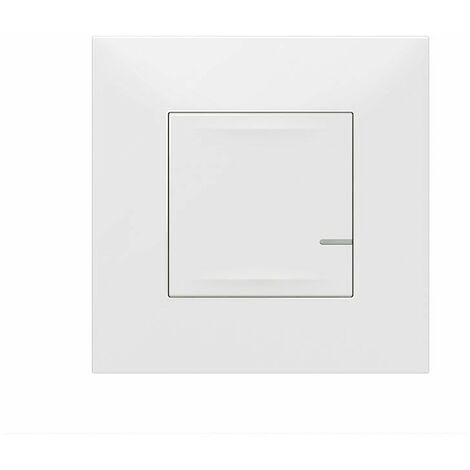 Interruptor de iluminación conectado blanco Legrand Valena Next 741810