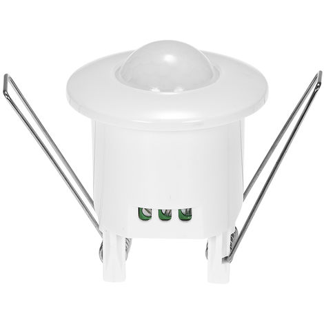 Interruptor de luz de la lampara del sensor de movimiento infrarrojo, AC110V-240V