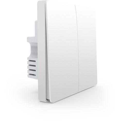 Interruptor de pared Control remoto de conmutacion en el hogar, llave doble Firewire doble