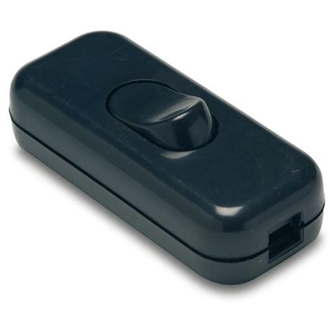 Interruptor de Paso 2 a Negro - FAMATEL - 4403 N