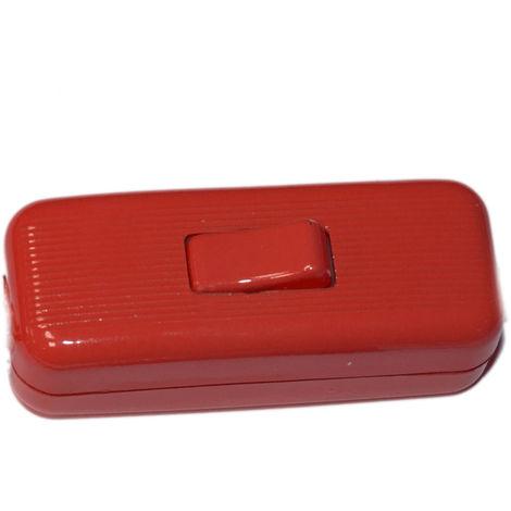 Interruptor de paso Cordón D\'or rojo (INT. DE PASO COLOR 62)