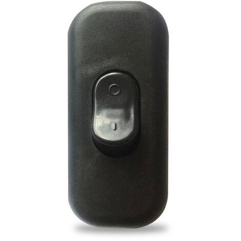Interruptor de paso negro 2A 250V (GSC 1101095)