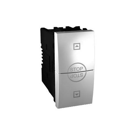 Interruptor de persianas Aluminio SCHNEIDER MGU3.108T.30