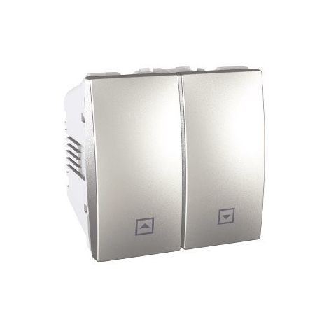 Interruptor de persianas Aluminio SCHNEIDER U3.208.30