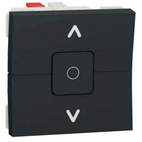 Interruptor de persianas color antracita NU320854 de Schneider
