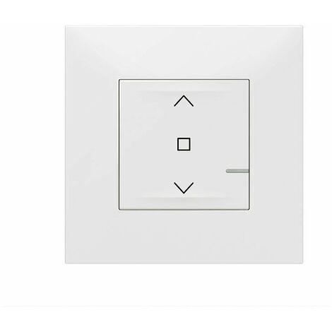Interruptor de persianas conectado blanco Legrand Valena Next 741807
