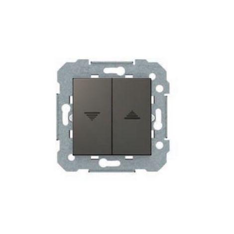 Interruptor de persianas gris lava serie VIVA BJC 23569-GL