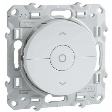 Interruptor de persianas Odace Plata SCHNEIDER S530208