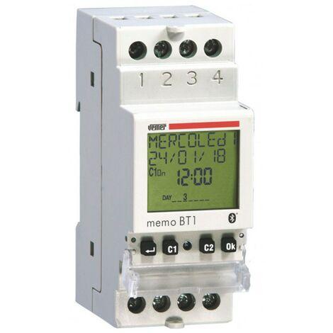 Interruptor de tiempo de electrónica digital Vemer Memo BT1 VE767600