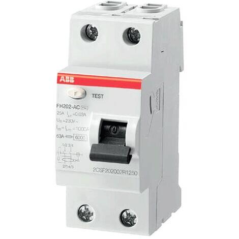 Interruptor Diferencial 2 Polos Clase AC 6kA CHINT