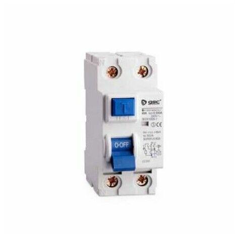 Interruptor diferencial 2P 63A 30 mA AC GSC 0403675