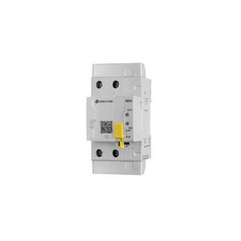 Interruptor diferencial autorearmable CIRCUTOR REC4 2 POLOS 40A 300ma P26A23.