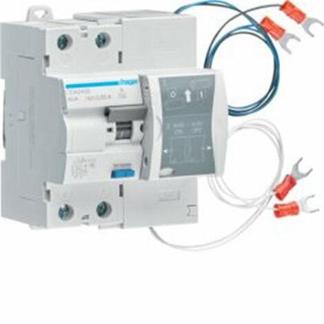 Interruptor Diferencial rearmable CDA240S HAGER 2X40A 30mA