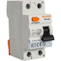 Interruptor Diferencial Residencial 1P+N-30mA-Clase AC-6kA