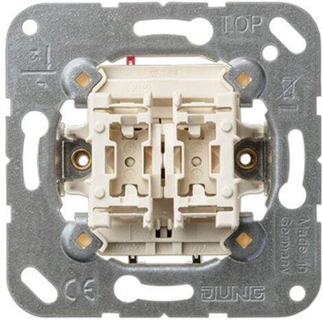Interruptor doble Jung 505U serie LS990