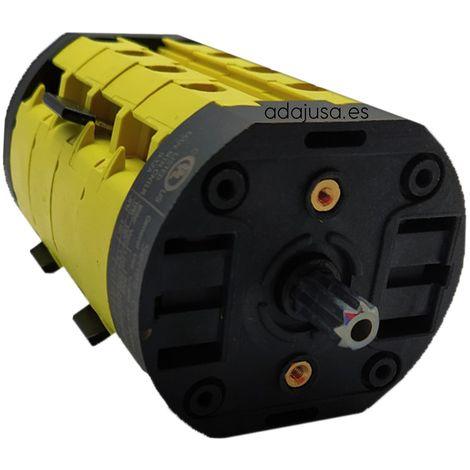Interruptor dos velocidades dahlander 25A - Giovenzana
