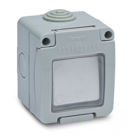 Interruptor elec 10amp estanco conm. ip55 famat