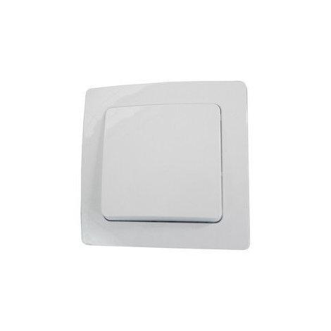 Interruptor empotrable 10 A/250 V Electro Dh 36.535/I/B, color blanco, 8430552137718