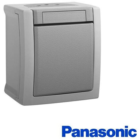 Interruptor estanco 10A 250V IP54 Panasonic Pacific