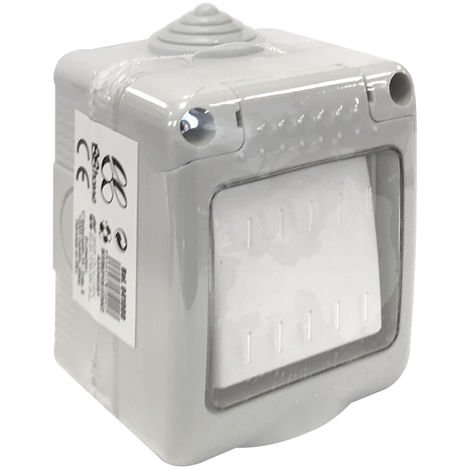 Interruptor estanco con tapa IP55 (B&B 041000)