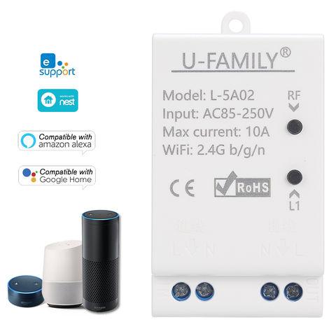 Interruptor eWelink RF 433MHz Wifi interruptor inalambrico RF con Tiempos de Funcion mando a distancia para el control de IOS Android / APP para los electrodomesticos