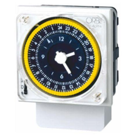 Interruptor horario analógico 24 horas Alpha D Orbis 270023