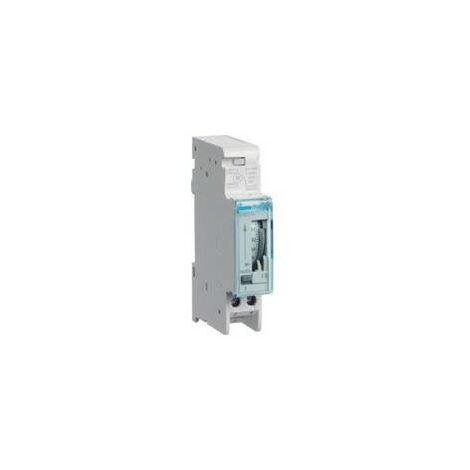 Interruptor Horario HAGER EH010 sin reserva 1 modulo