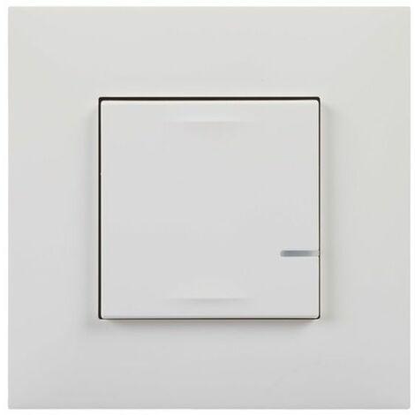 Interruptor Iluminacion conectado Legrand 741810 serie Valena Next with Netatmo color Blanco