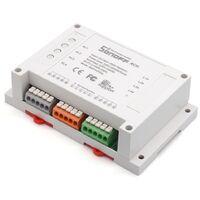 Interruptor Inalámbrico 4 Canales Wi-Fi Sonoff 4CH 10A