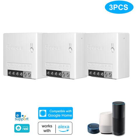 Interruptor inteligente bidireccional, control remoto, 3 piezas