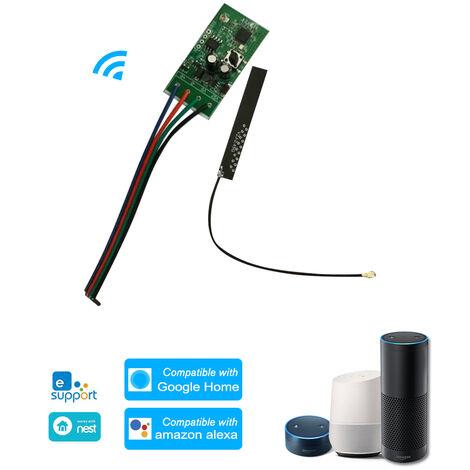 Interruptor inteligente WiFi de 12 V CC, para controles remotos de etiquetas
