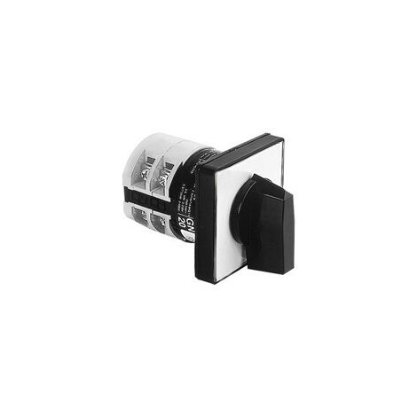 Interruptor Lovato-Cámara rotativa ST-TR 3-posición de 48X48 7GN2512U